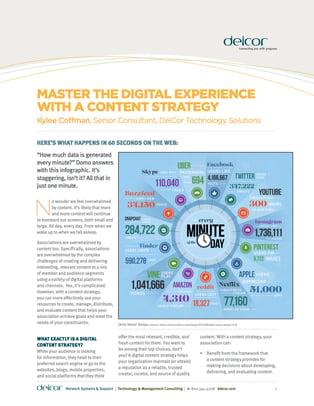 Delcor Content Strategy cover